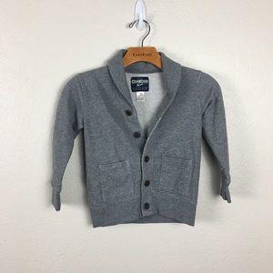 oshkosh b'gosh kids size 5 button down sweater